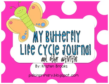 Butterfly Journal and Butterfly Life Cycle Activities