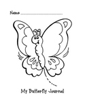 Butterfly Journal for Primary Grades