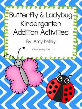 Butterfly/Ladybug-Themed Kindergarten Addition Activities
