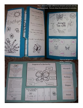 Butterfly Lap Book