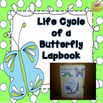 Butterfly Lapbook - Fun project for the Life Cycle of a Bu