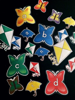 Spring Letter Decorations and Crafts