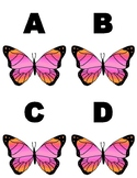 Butterfly Letter Flashcards