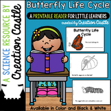 Butterfly Life Cycle Guided Reading Book