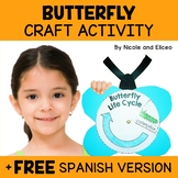 Easy Craft - Butterfly Life Cycle Activity