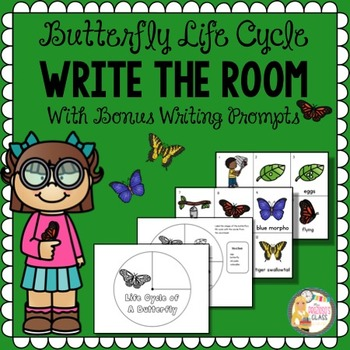 Butterfly Life Cycle Write The Room | Butterfly Life Cycle