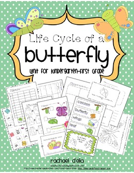 Butterfly Life Cycle {A Common Core Aligned Cross-Curricular Unit for K-1st}