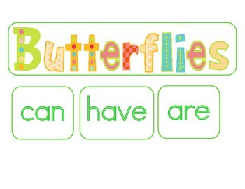 Butterfly Life Cycle:  A Science and Literacy Mini Unit
