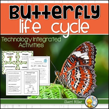 Butterfly Life Cycle - Technology Integrated Activities