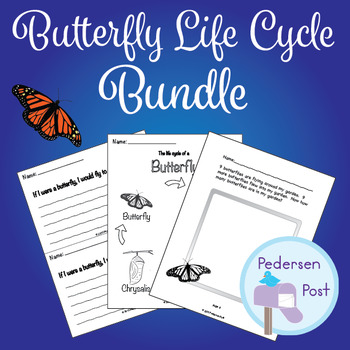 Butterfly Life Cycle Activity Bundle