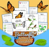 Butterfly Life Cycle Activity Pack
