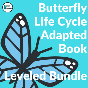 Butterfly Life Cycle Adapted Book Level 1