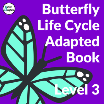 Butterfly Life Cycle Adapted Book Level 3