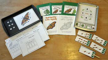 Butterfly Life Cycle Adapted Books Unit