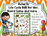 Butterfly Life Cycle Bee Bot Mat, Game Board and more