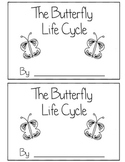 Butterfly Life Cycle Book Differentiated (Read, Trace, Fill in the Blank)