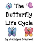 Butterfly Life Cycle Book and Student Writing Book