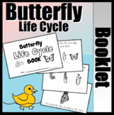 Butterfly Life Cycle Booklet (With Writing Support)