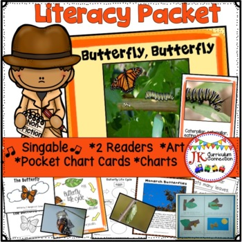 Butterfly Life Cycle Song and Study Unit
