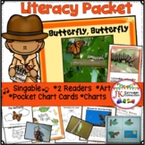 Butterfly Life Cycle - Butterfly, Butterfly Singable {CCSS}