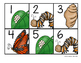 Butterfly Life Cycle Calendar Pieces -- ABCD Pattern