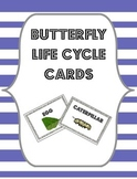Butterfly Life Cycle Cards {Flashcards, Sorting Cards or Bulletin Board Labels}
