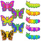Butterfly Life Cycle Clip Art Sequence