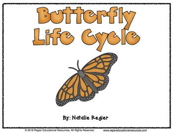 Science Activities | Butterfly Life Cycle | Class Book
