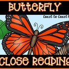 Butterfly Life Cycle & Activities ~ CLOSE Reading