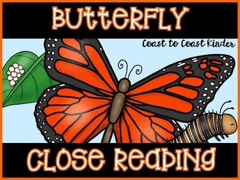 Close Reading-Butterfly Life Cycle & Activities