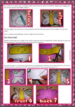 Butterfly Life Cycle - Craft Fun - for Elementary Level