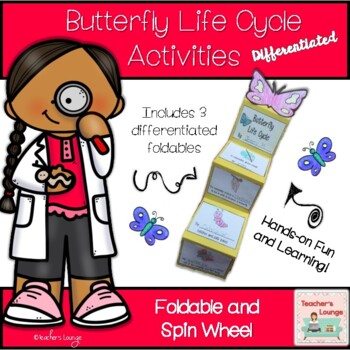 Butterfly Life Cycle DIFFERENTIATED