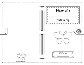Butterfly Life Cycle: Diary of a Butterfly