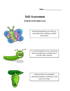 Butterfly Life Cycle-Differentiated Activities