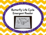 Butterfly Life Cycle Emergent Reader Book