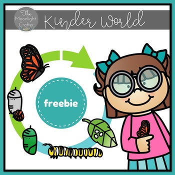 Butterfly Life Cycle Emergent Reader FREEBIE