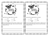 Butterfly Life Cycle Exit Tickets