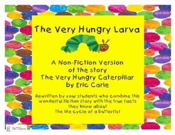 """Butterfly Life Cycle: Fiction or Non Fiction?  """"The Very H"""