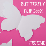 Butterfly Life Cycle Flip Book FREEBIE