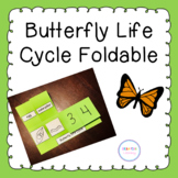 Butterfly Life Cycle Foldable Freebie