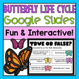 Butterfly Life Cycle Google Slides (Distance Learning)