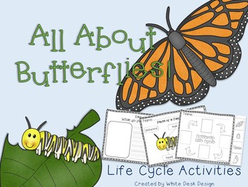 Butterfly Life Cycle! {Informational}