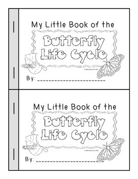 Butterfly Life Cycle Interactive Reader