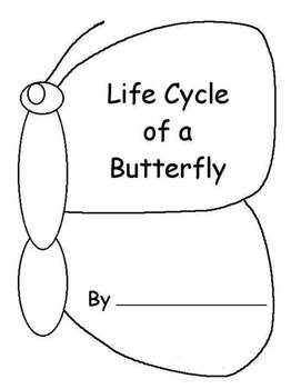 Butterfly Life Cycle Journal Booklet