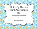 Butterfly Life Cycle Math Worksheets :