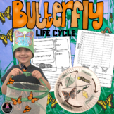 BUTTERFLY LIFE CYCLE ACTIVITIES FOR SCIENCE, READING AND MATH