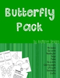 Butterfly Life Cycle. Mini-books, clip cards, songs, craft