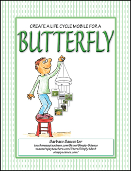 Butterfly Life Cycle Mobile ★ FREEBIE ★