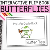 Non-Fiction Life Cycle Flip Book - Butterfly