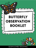 Butterfly Life Cycle Observation Booklet
